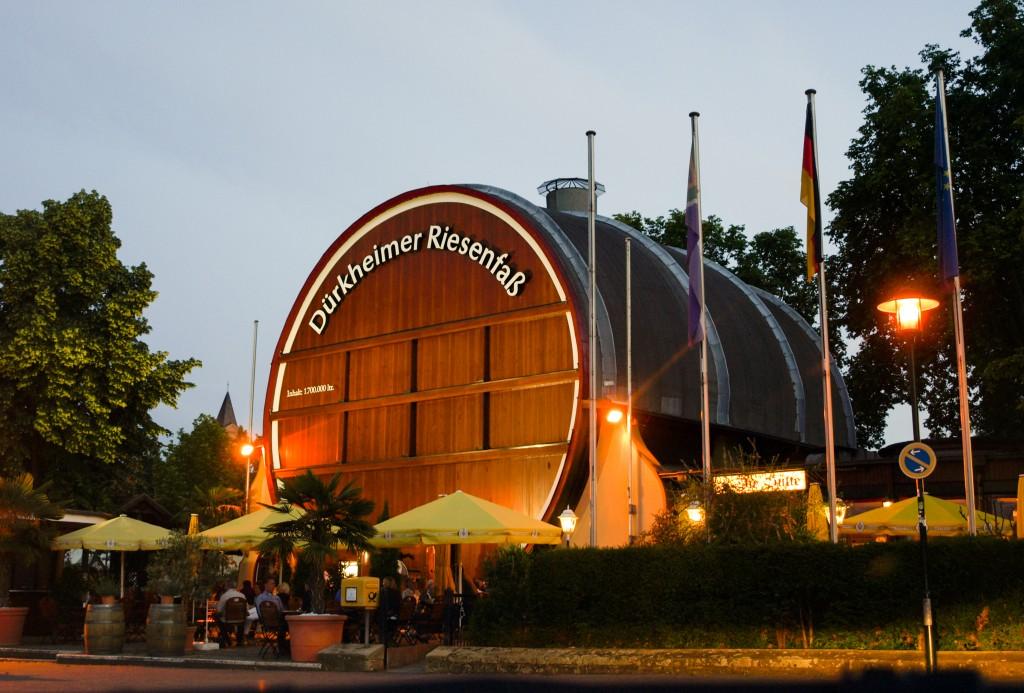 Riesenfass, Ferienwohnung Maier Bad Dürkheim Rheinland Pfalz Region
