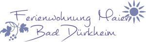 Ausstattung der Ferienwohnung Maier Bad Dürkheim Region Urlaub FeWo Ferienhaus