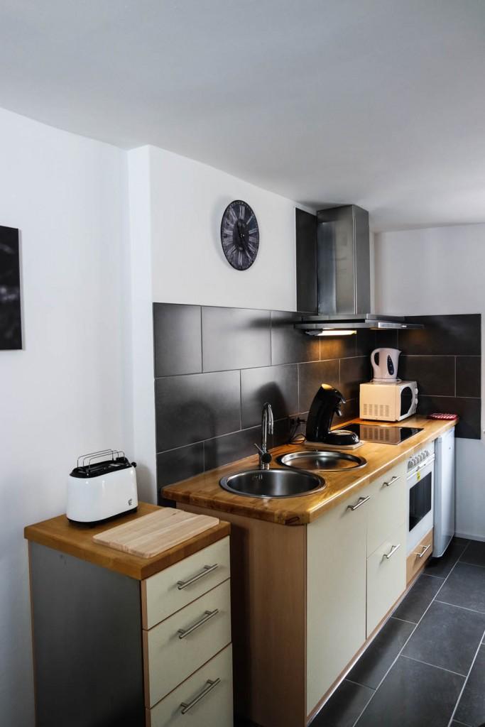 Küche Ferienwohnung Maier Bad Dürkheim Rheinland Pfalz