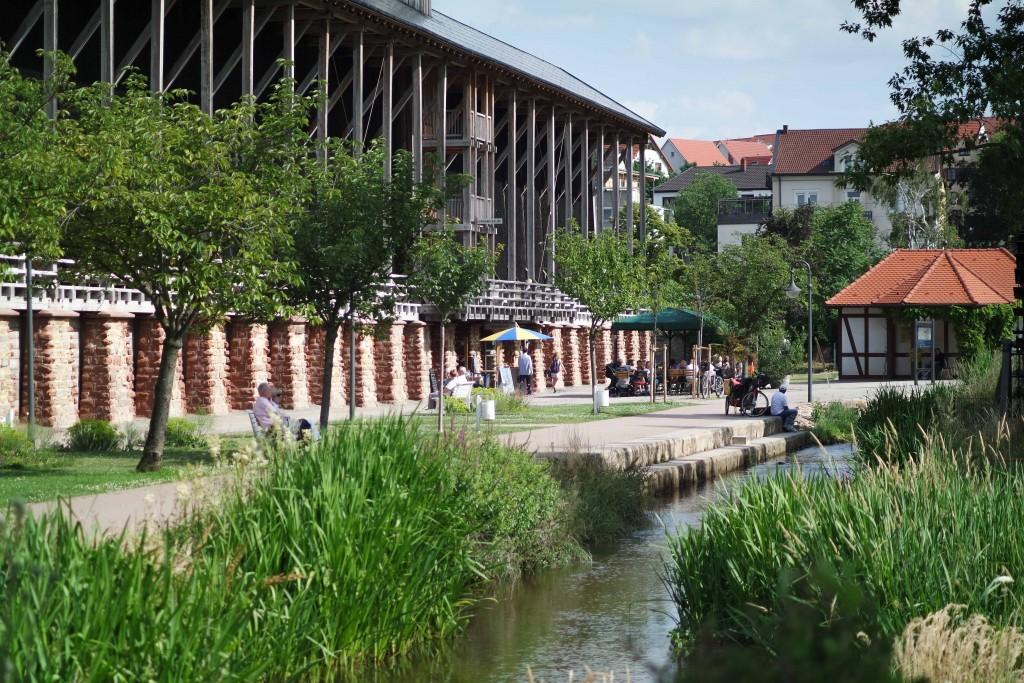 Ferienwohnung Maier Bad Dürkheim Gradierbau Saline im Kurpark