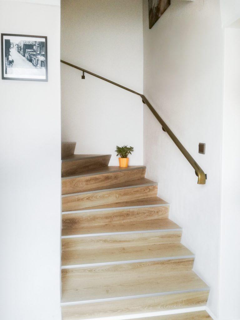 Treppenaufgang Ferienwohnung Maier Bad Dürkheim
