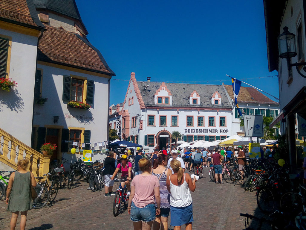Ferienwohnung Maier Bad Dürkheim Weinstraßen Erlebnis Tag Deutsche Weinstraße Fewo Radtag Fahrradtag Bad Dürkheim Deidesheim